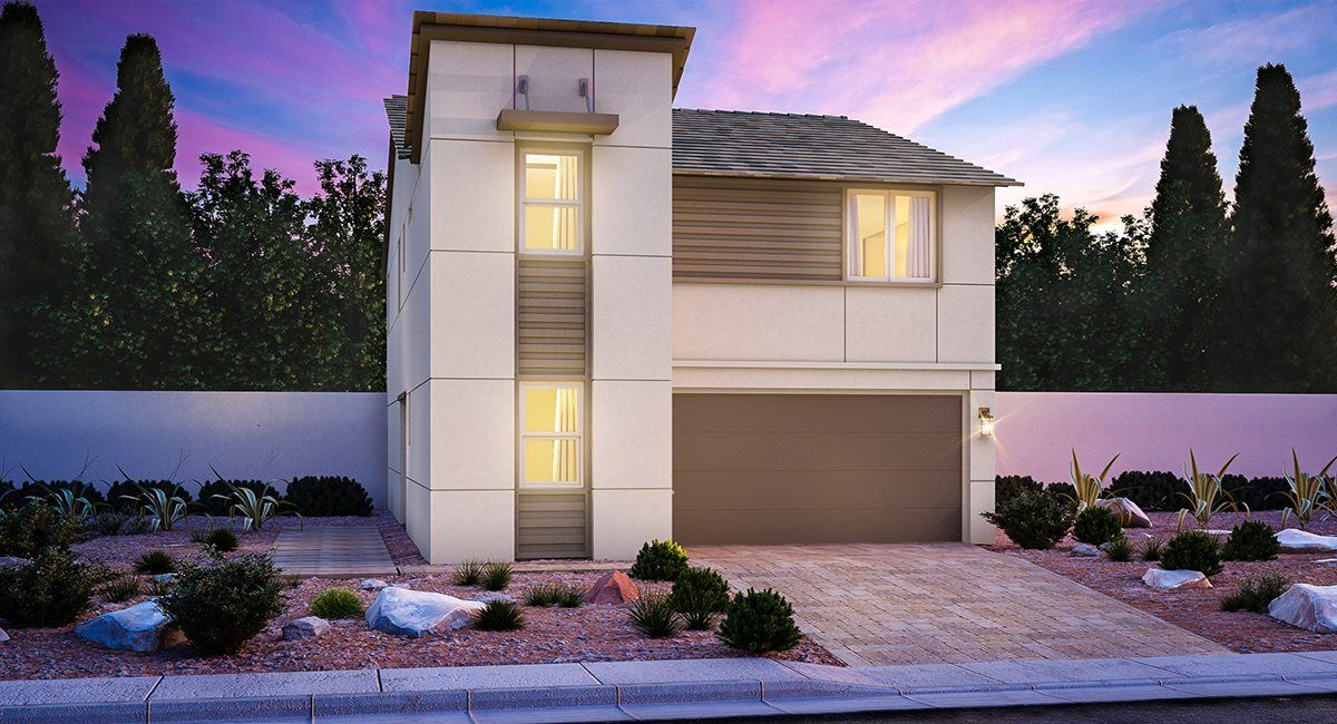Exterior featured in the Abbey By Lennar in Las Vegas, NV