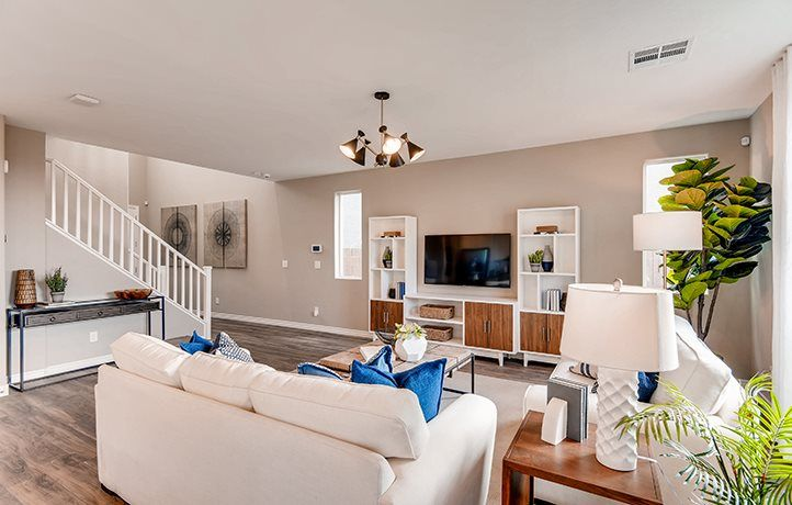 Living Area featured in the Castlehill By Lennar in Las Vegas, NV
