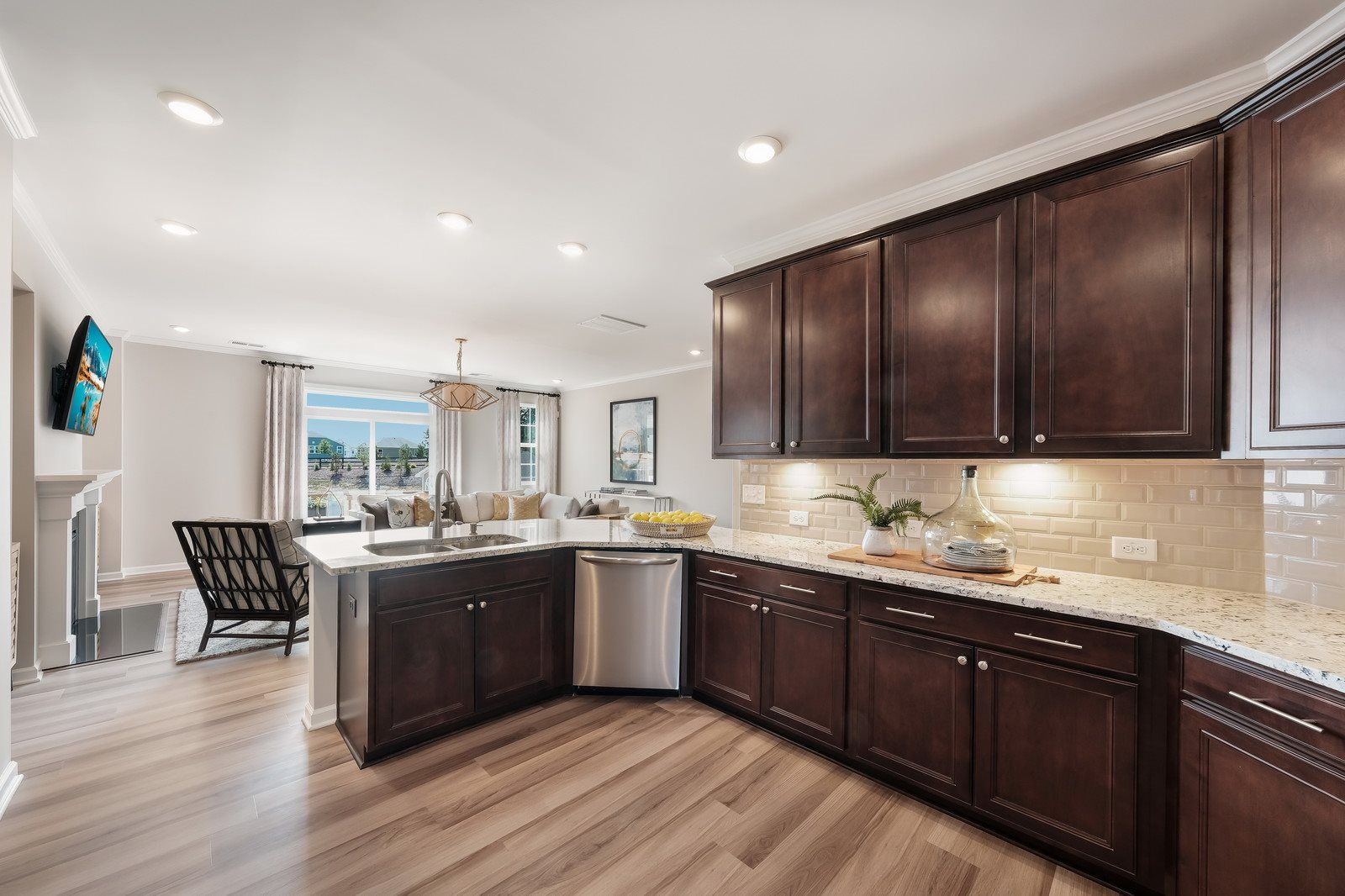 Kitchen featured in the Gibbons By Lennar in Raleigh-Durham-Chapel Hill, NC