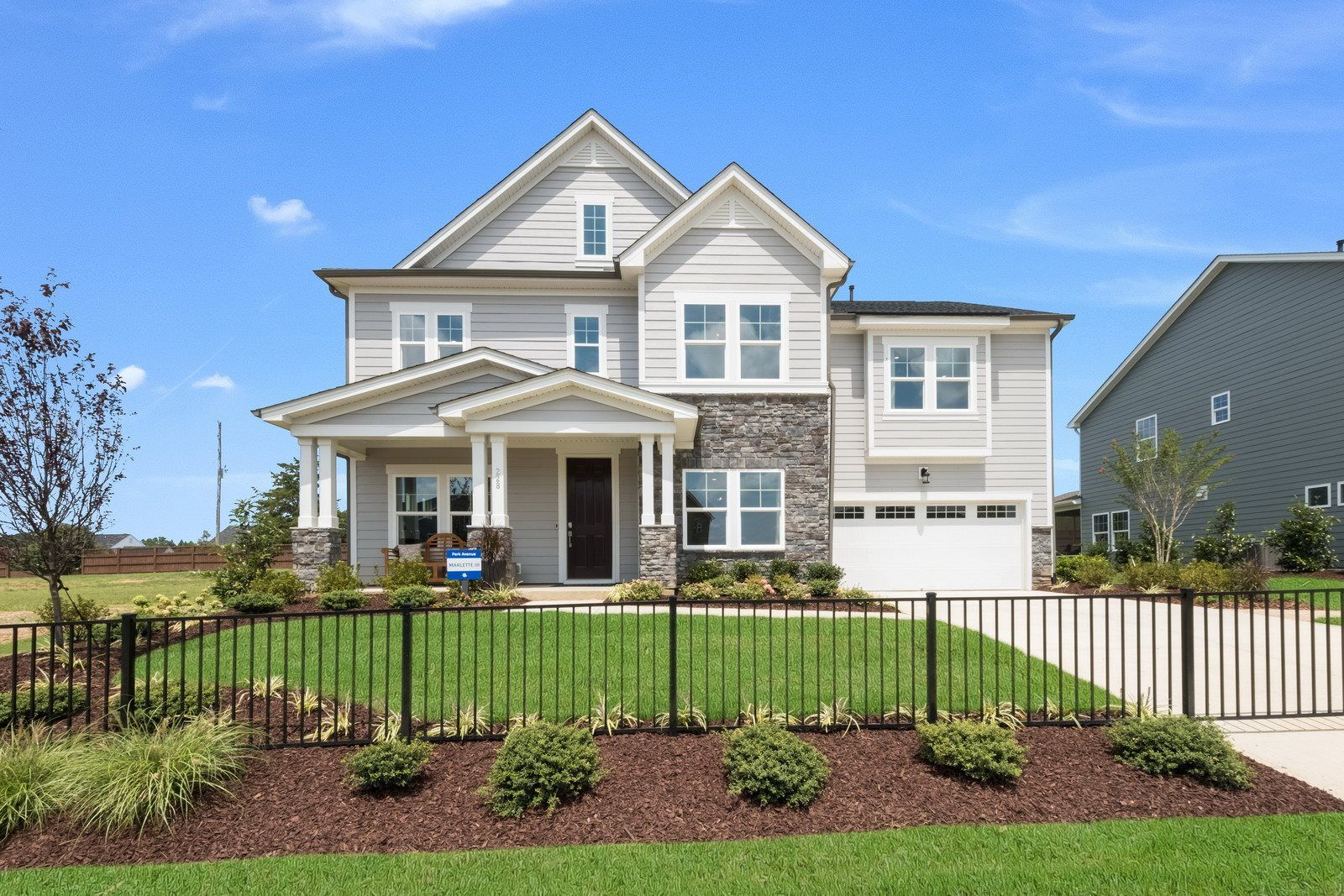 Exterior featured in the Marlette III By Lennar in Raleigh-Durham-Chapel Hill, NC