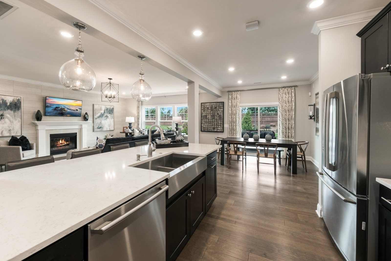 Kitchen featured in the Marlette III By Lennar in Raleigh-Durham-Chapel Hill, NC