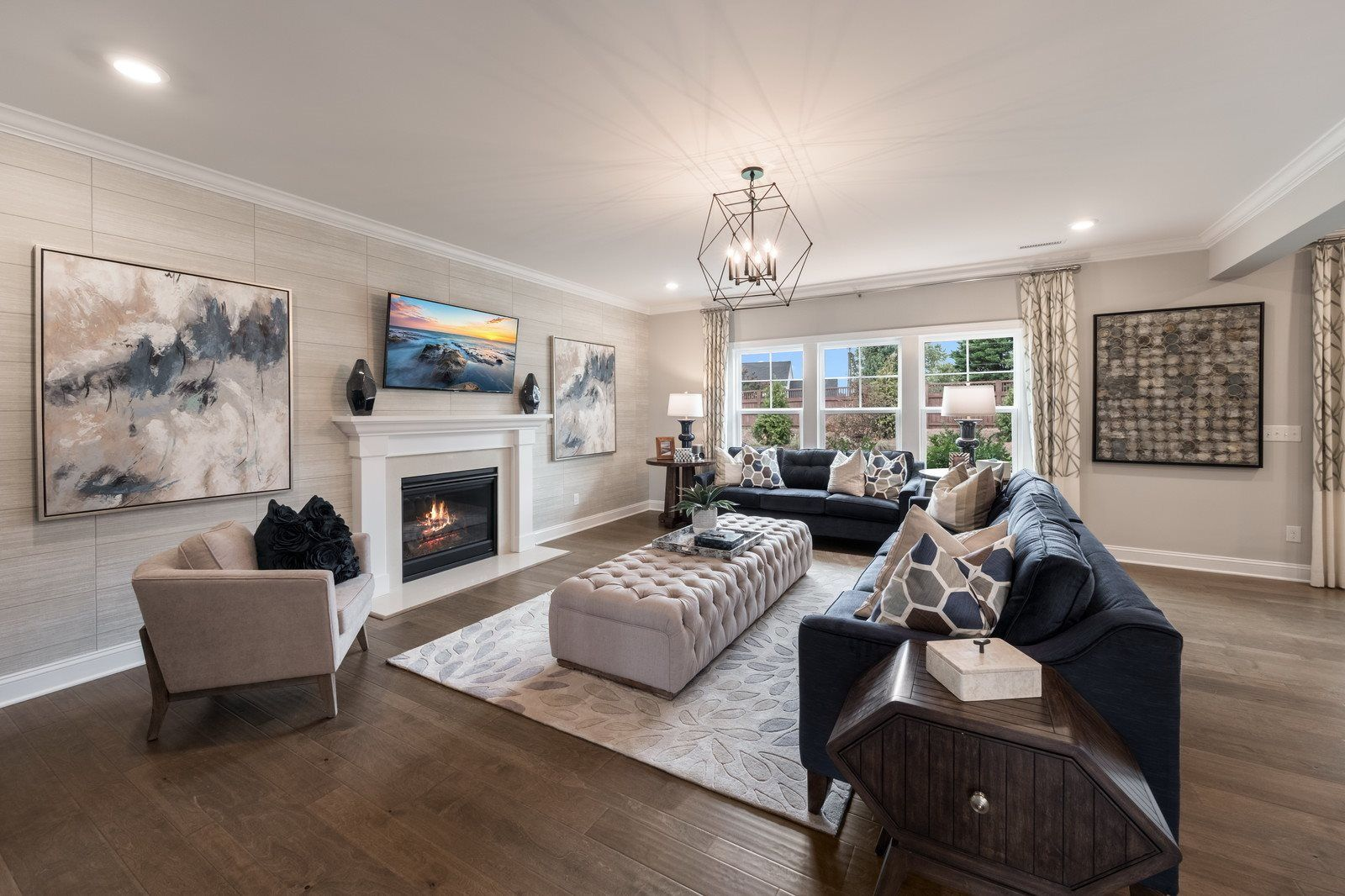 Living Area featured in the Marlette III By Lennar in Raleigh-Durham-Chapel Hill, NC