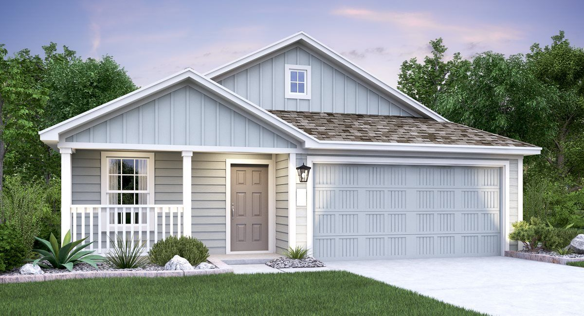Exterior featured in the Malvern By Lennar in San Antonio, TX