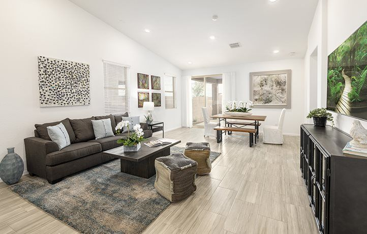 Living Area featured in the Lewis Plan 3575 By Lennar in Phoenix-Mesa, AZ