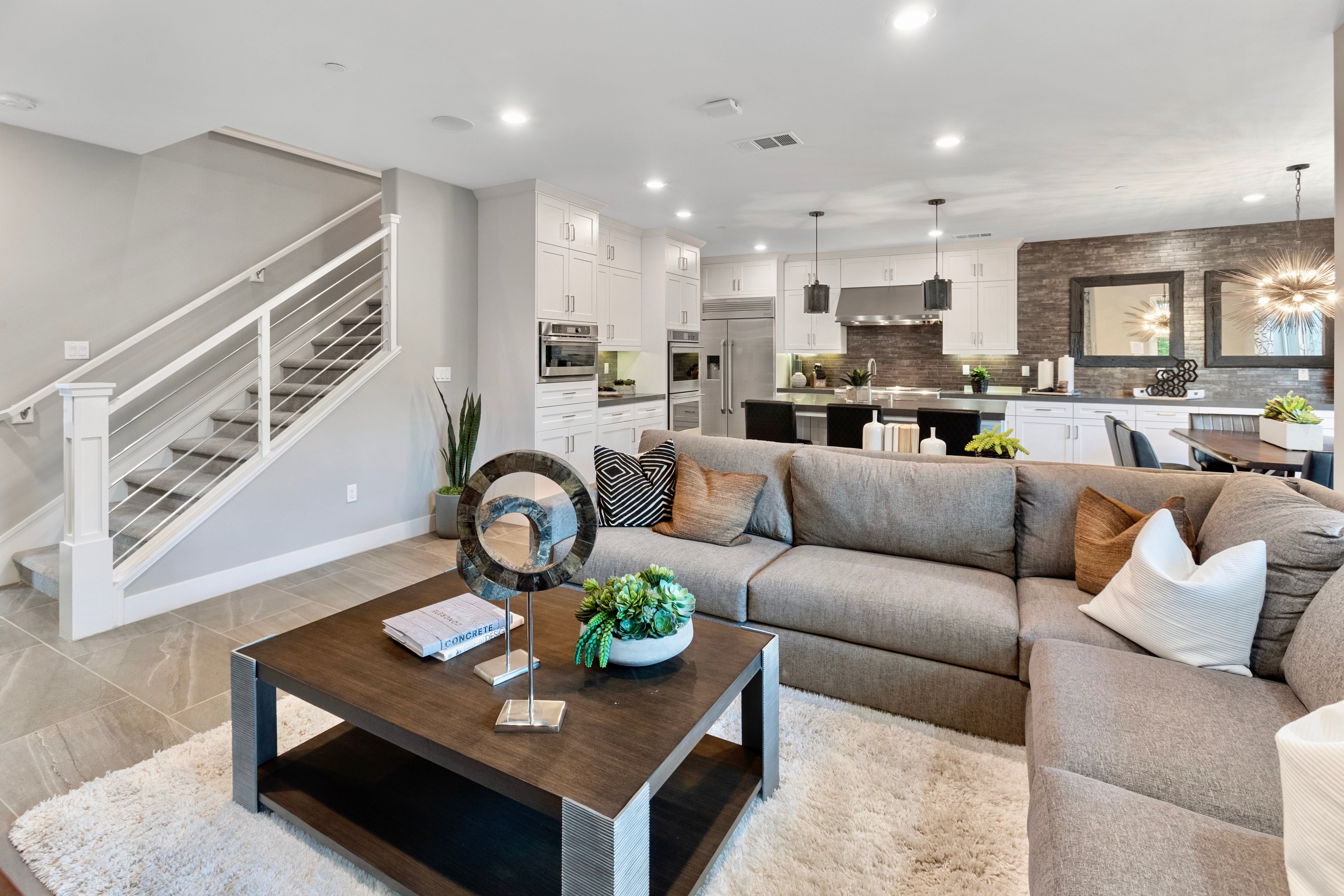 Living Area featured in the Residence 1 By Lennar in Orange County, CA
