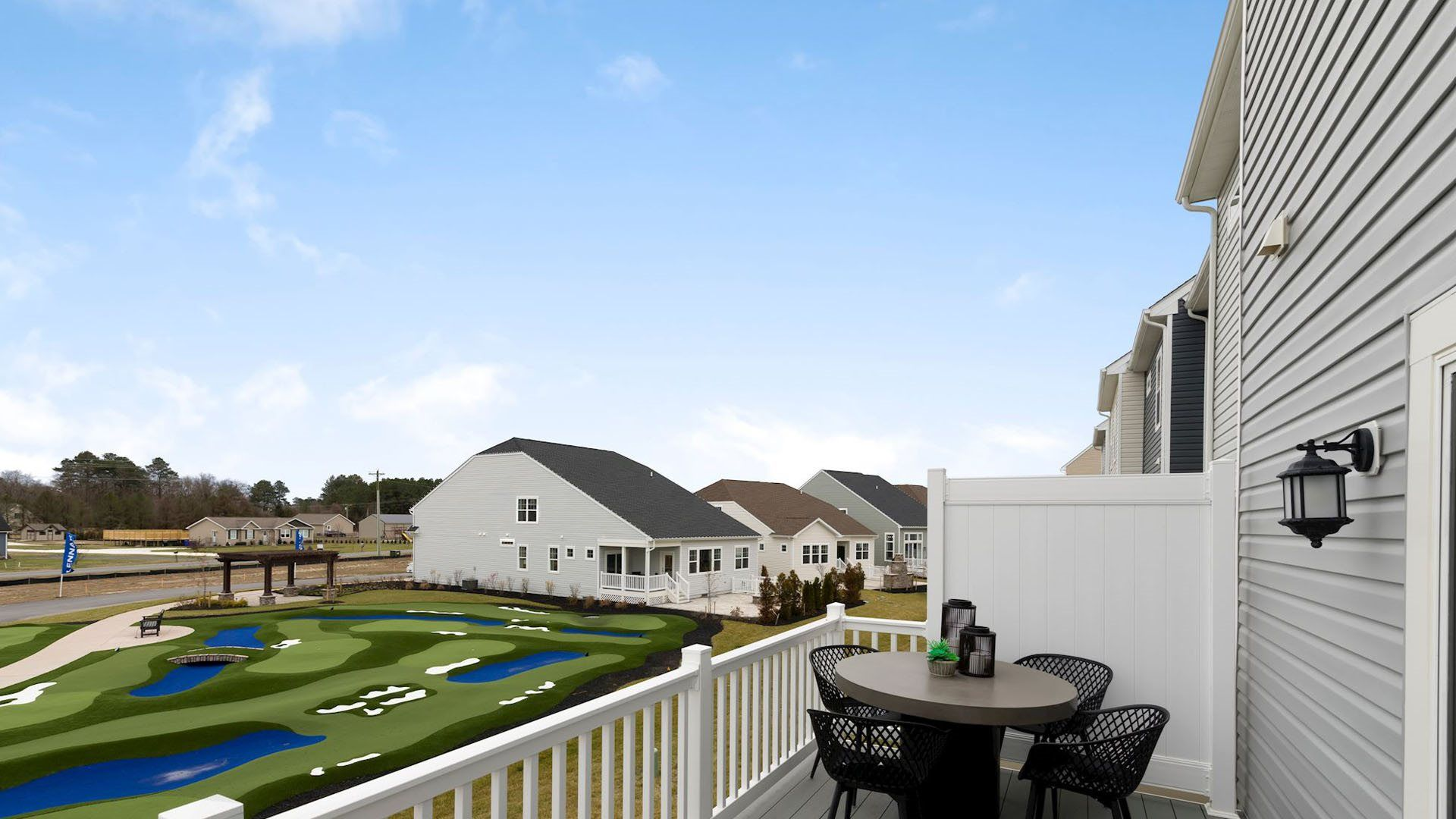 Exterior featured in the Ellicott Front Load Garage By Lennar in Sussex, DE
