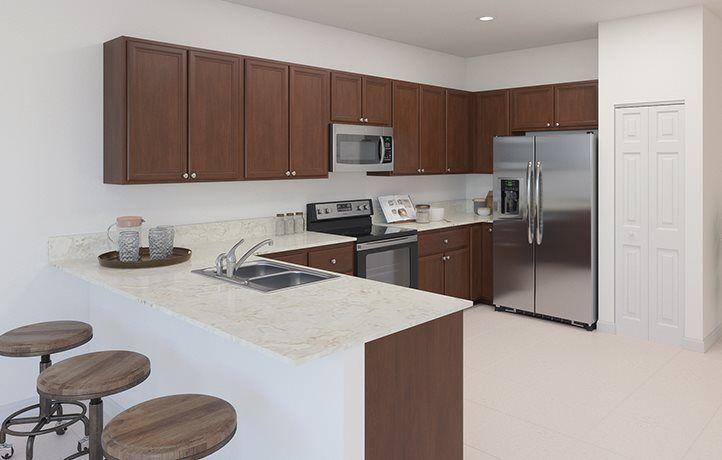 Kitchen featured in the Lanai By Lennar in Miami-Dade County, FL