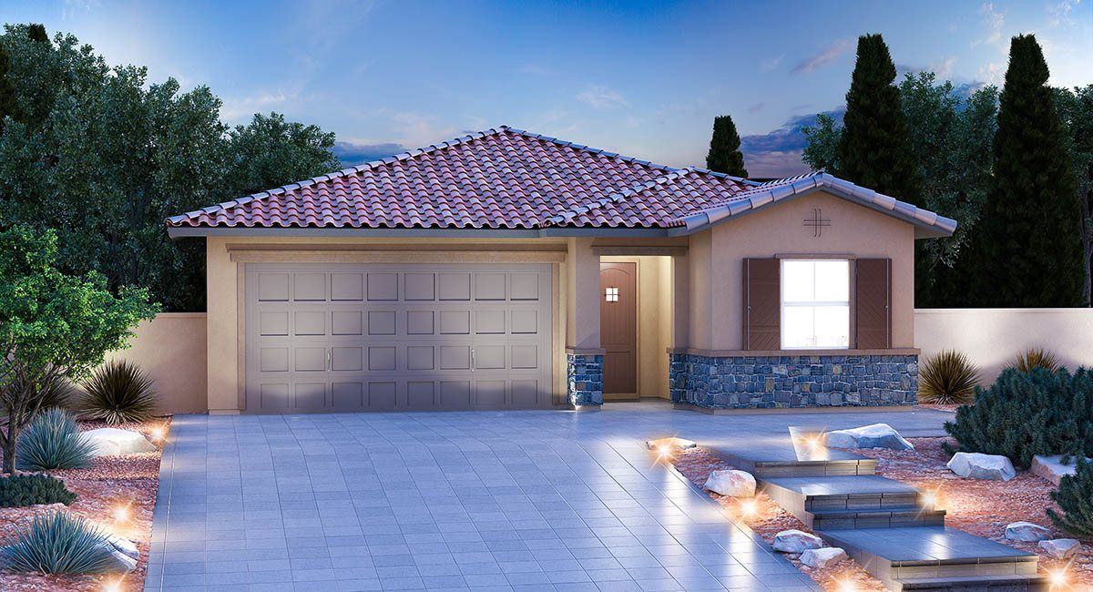 Exterior featured in the Residence Twelve By Lennar in Las Vegas, NV