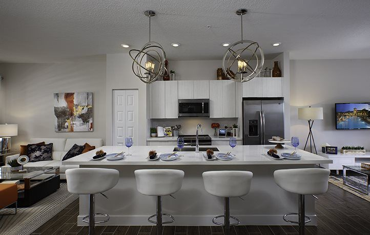 Kitchen featured in the Oakwood By Lennar in Miami-Dade County, FL