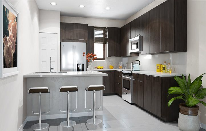 Kitchen featured in the MODEL CB By Lennar in Miami-Dade County, FL