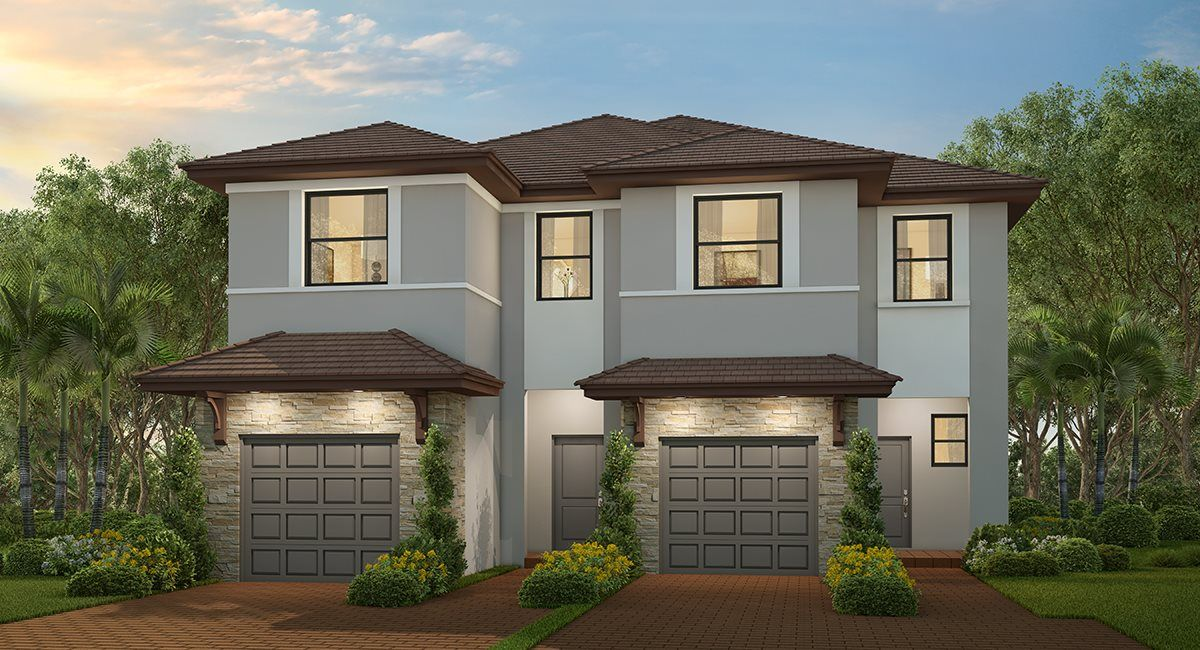 Exterior featured in the Meadow By Lennar in Miami-Dade County, FL