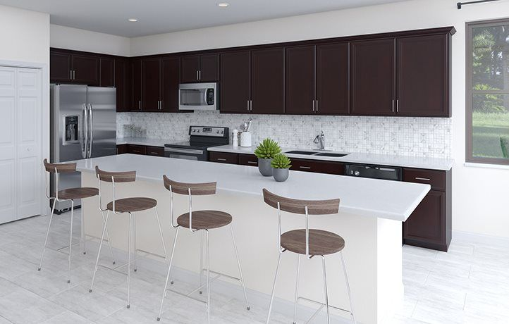 Kitchen featured in the Meadow By Lennar in Miami-Dade County, FL