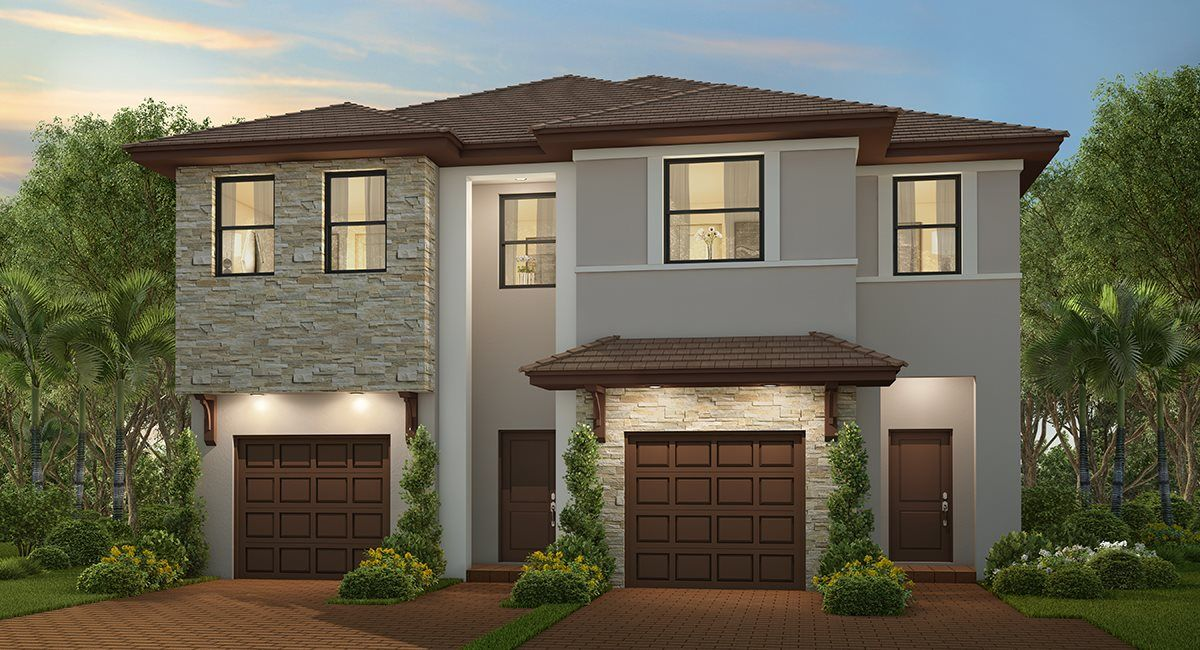Exterior featured in the Rosebrook By Lennar in Miami-Dade County, FL