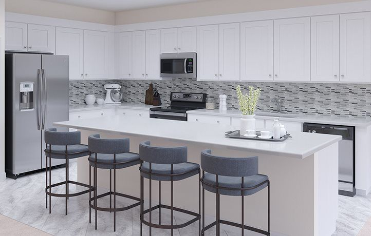 Kitchen featured in the Rosebrook By Lennar in Miami-Dade County, FL