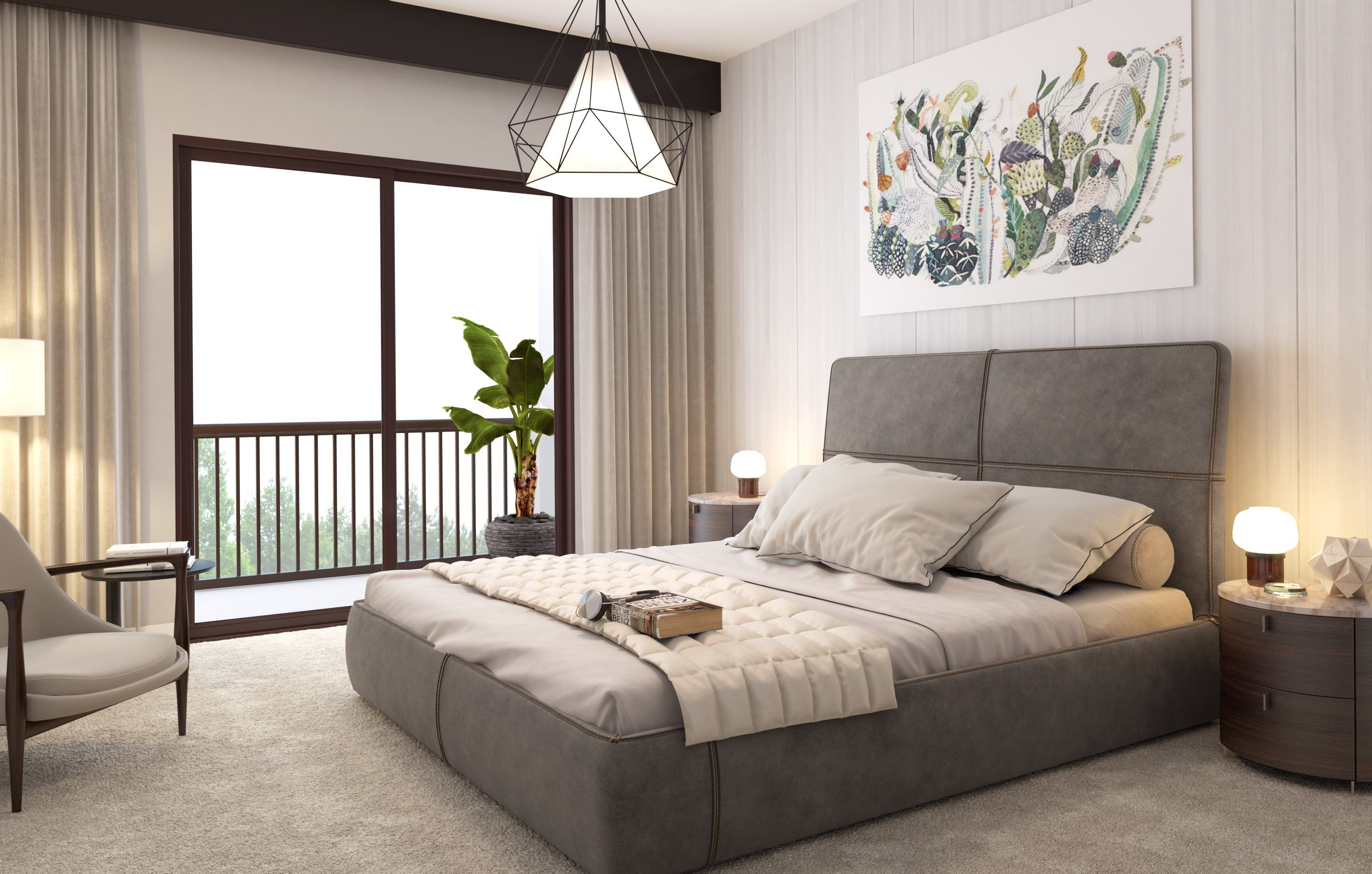 Bedroom featured in the MODEL MF By Lennar in Miami-Dade County, FL