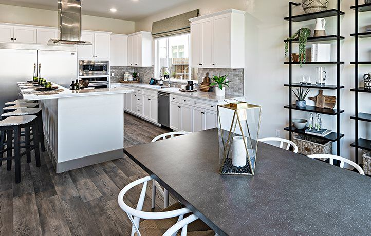 Kitchen featured in the Moonlight By Lennar in Merced, CA