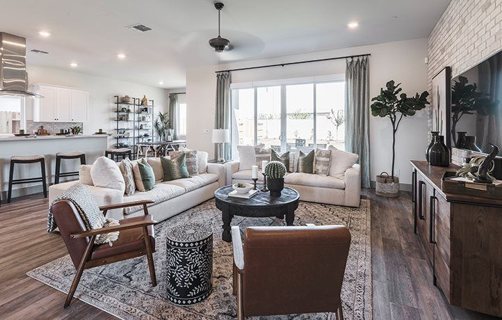 Living Area featured in the Moonlight By Lennar in Merced, CA