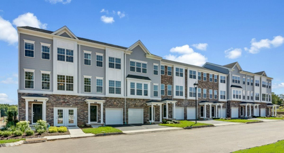 Exterior featured in the Oxford By Lennar in Somerset County, NJ