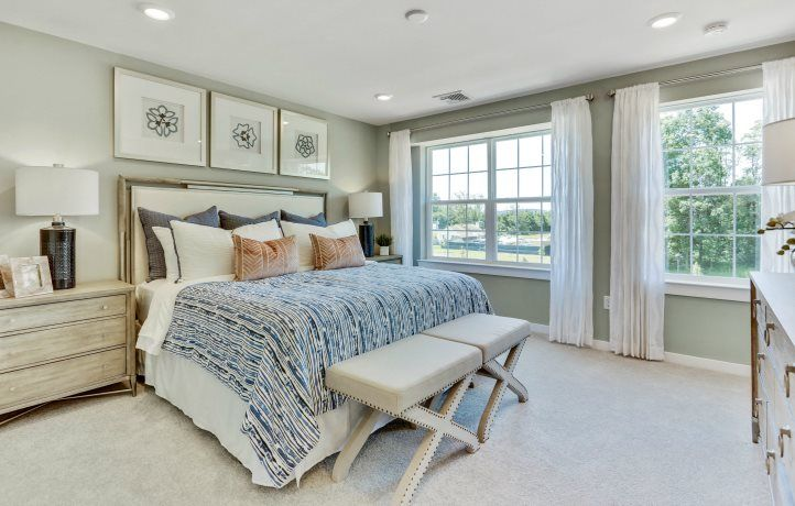 Bedroom featured in the Oxford By Lennar in Somerset County, NJ