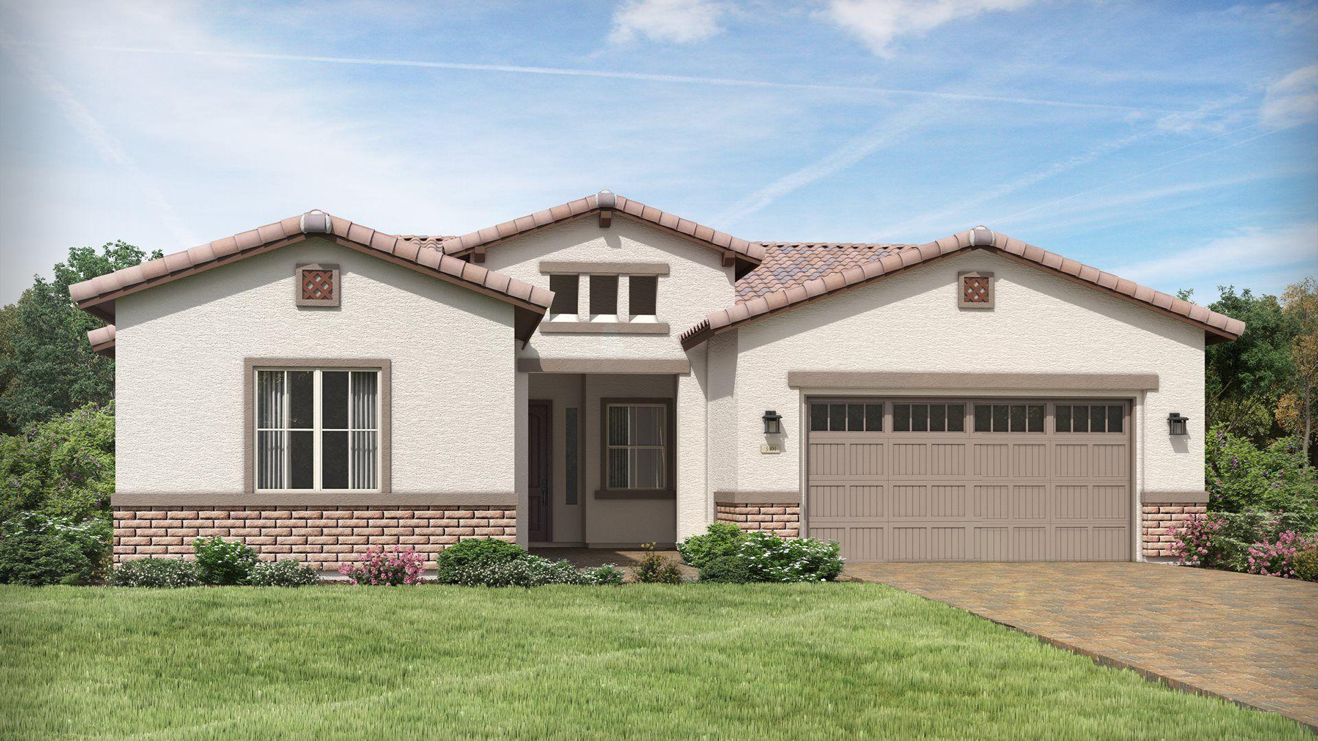 Exterior featured in the Pinnacle Plan 1005 By Lennar in Phoenix-Mesa, AZ