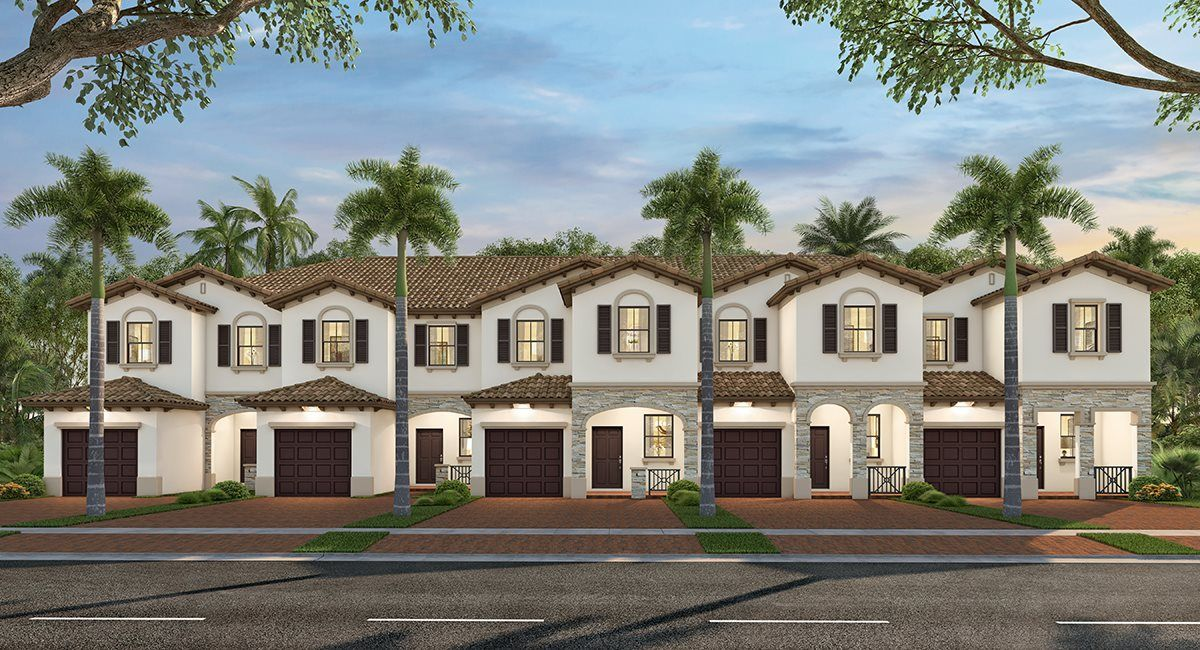 Exterior featured in the Gavelston By Lennar in Miami-Dade County, FL