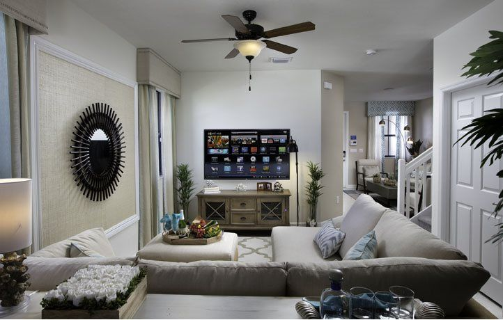 Living Area featured in the Haven By Lennar in Miami-Dade County, FL