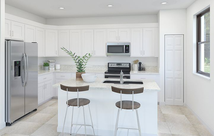 Kitchen featured in the Haven By Lennar in Miami-Dade County, FL