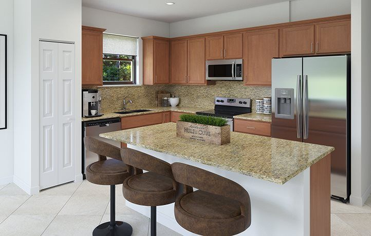 Kitchen featured in the Emerson By Lennar in Miami-Dade County, FL