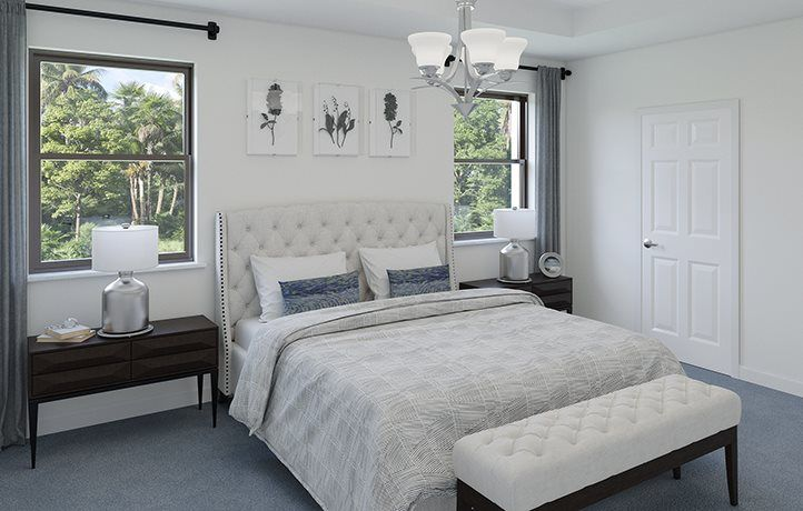 Bedroom featured in the Emerson By Lennar in Miami-Dade County, FL