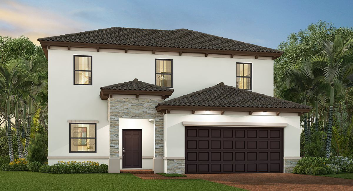 Exterior featured in the Finn By Lennar in Miami-Dade County, FL