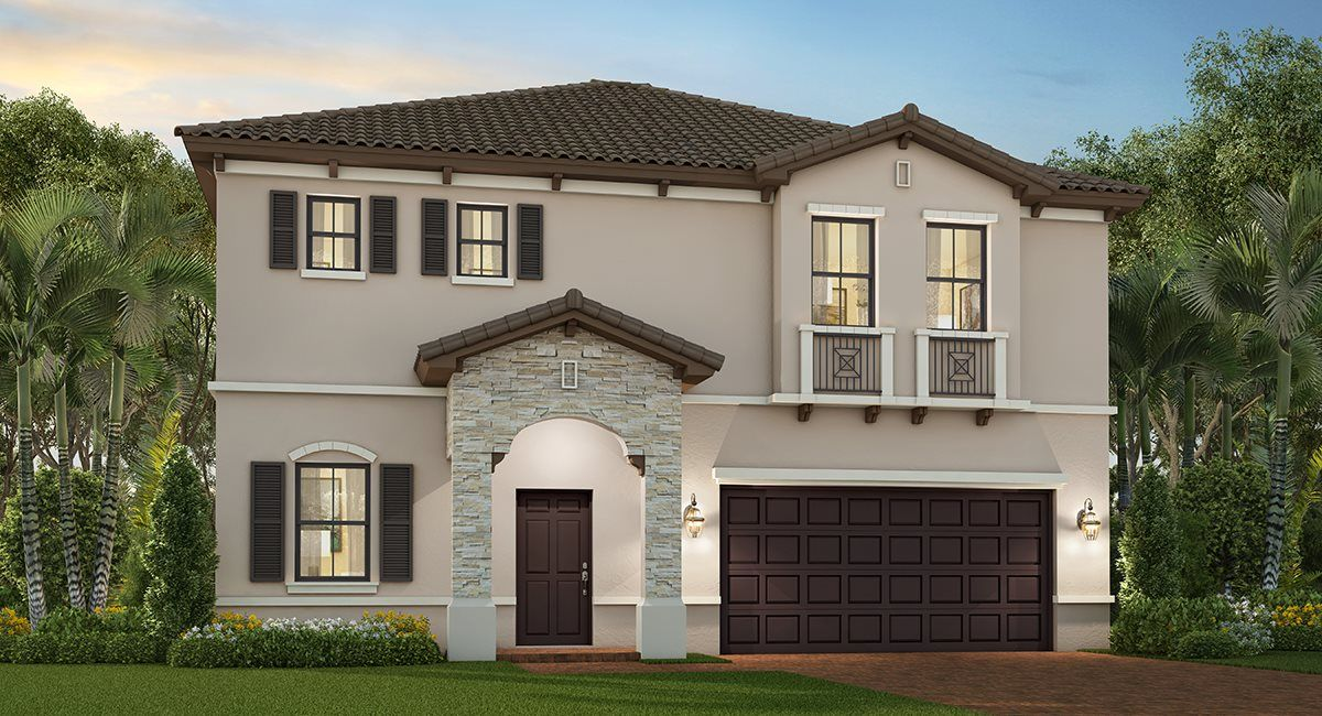 Exterior featured in the Lennox By Lennar in Miami-Dade County, FL