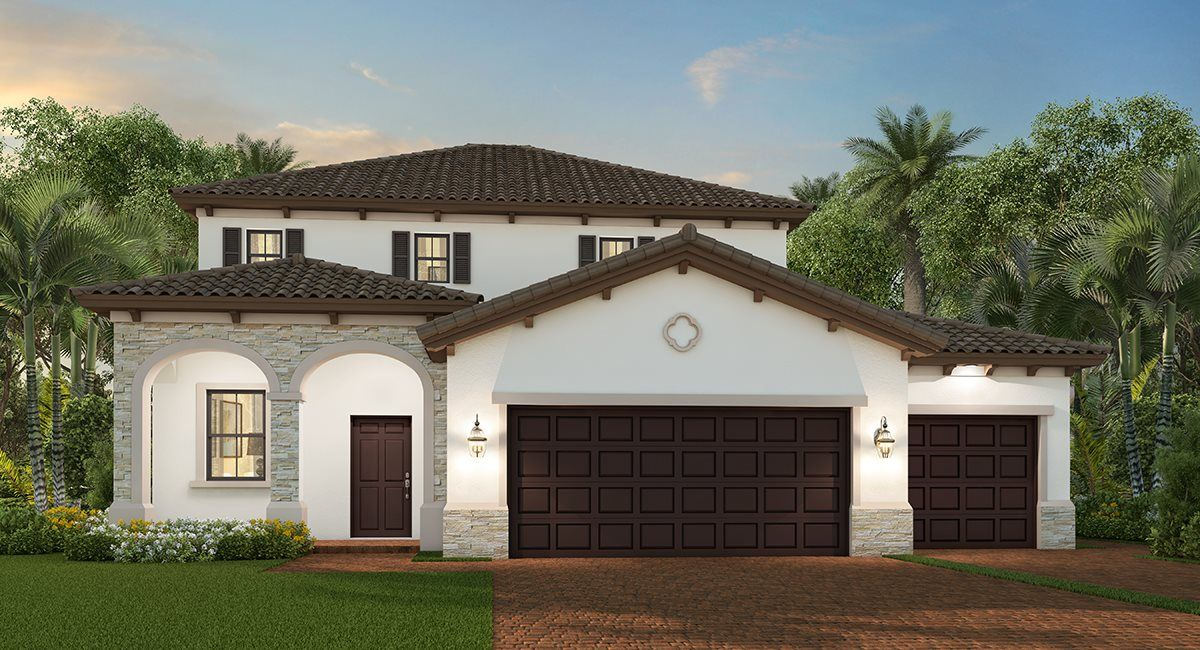Exterior featured in the Porter By Lennar in Miami-Dade County, FL