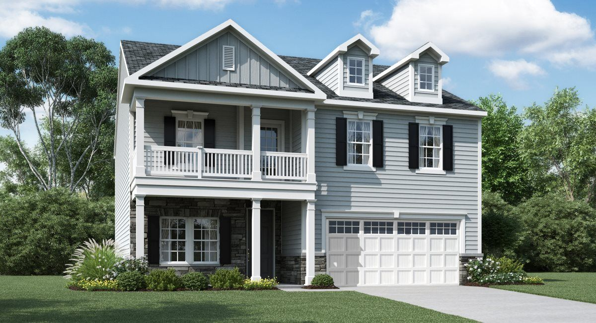 Exterior featured in the Landrum III By Lennar in Raleigh-Durham-Chapel Hill, NC