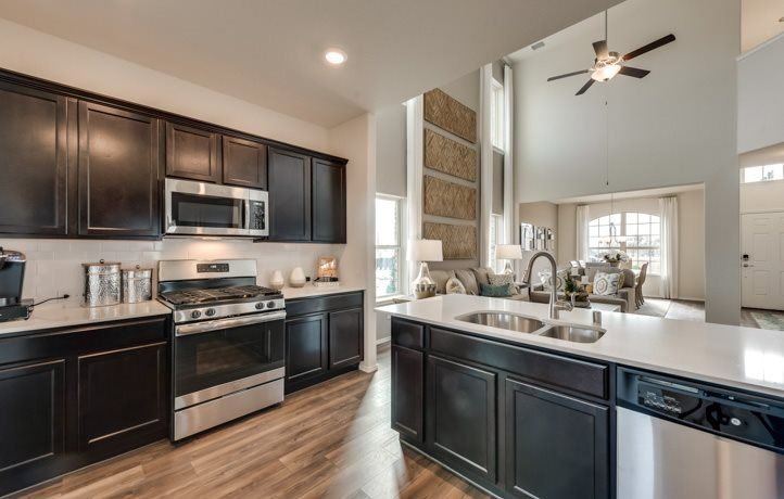 Kitchen featured in the Diamond By Lennar in Dallas, TX