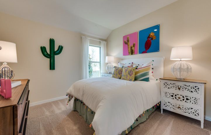Bedroom featured in the Rosso By Lennar in Dallas, TX