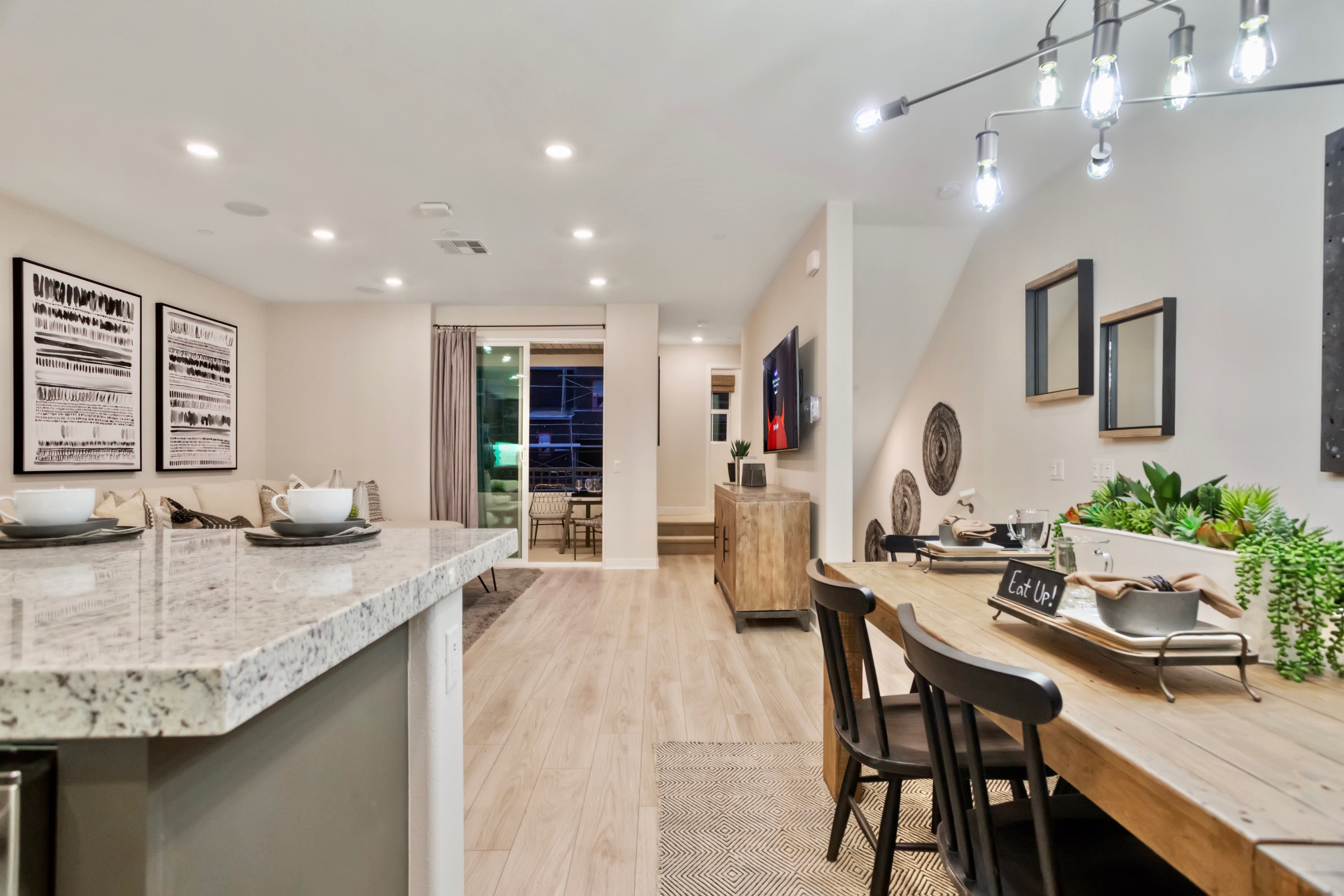 Kitchen featured in the Residence 1 By Lennar in Los Angeles, CA