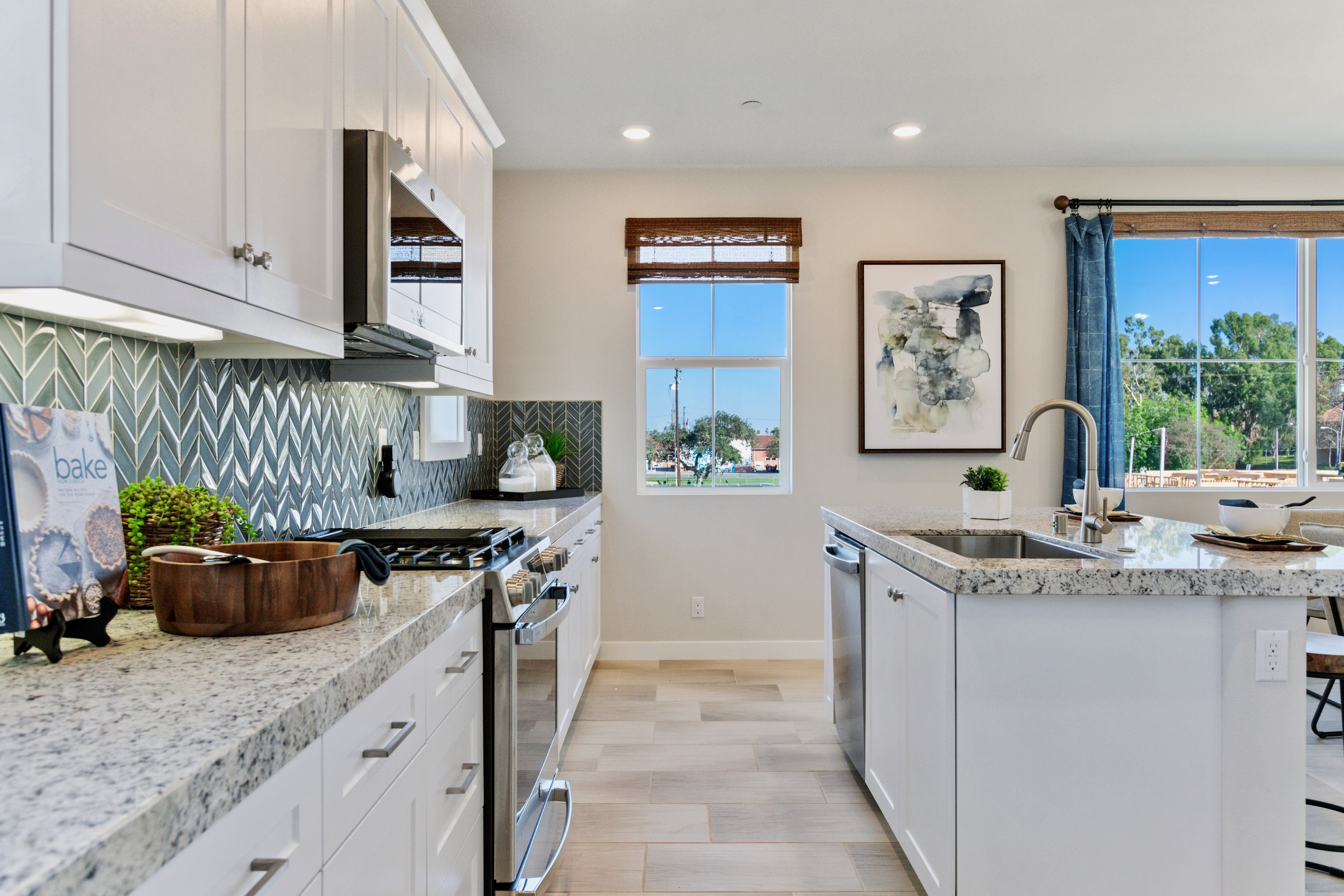 Kitchen featured in the Residence 3 By Lennar in Los Angeles, CA