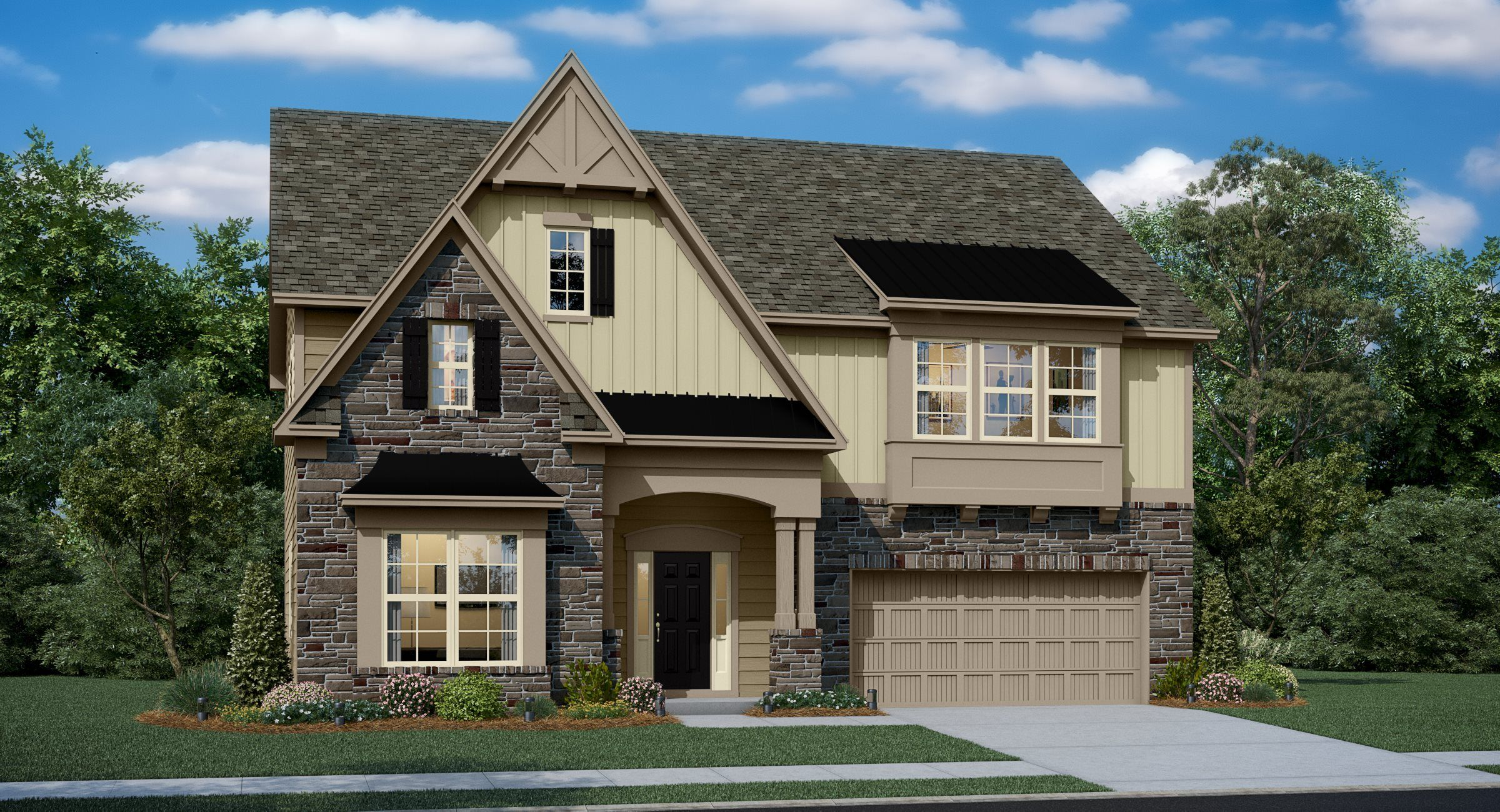 Exterior featured in the Bartlett Basement By Lennar in Charlotte, NC