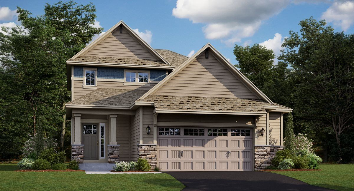 Exterior featured in the Bryce EI By Lennar in Minneapolis-St. Paul, MN