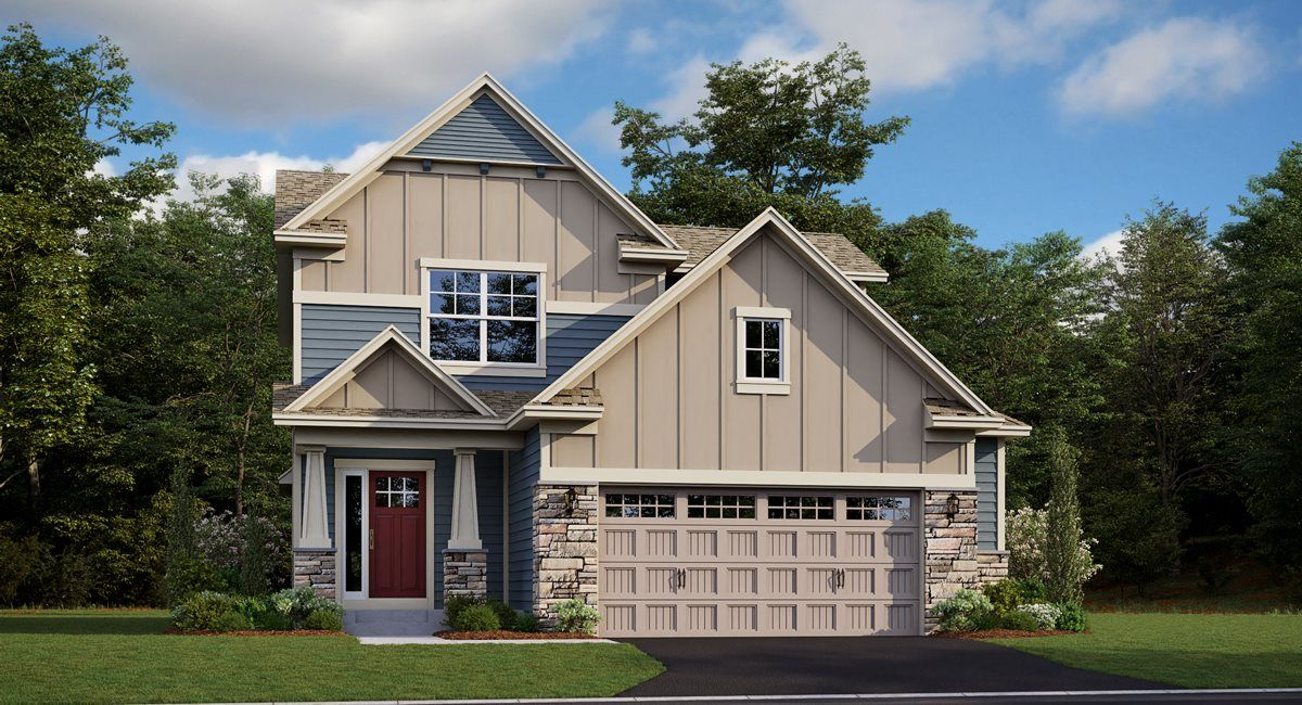 Exterior featured in the Denali EI By Lennar in Minneapolis-St. Paul, MN