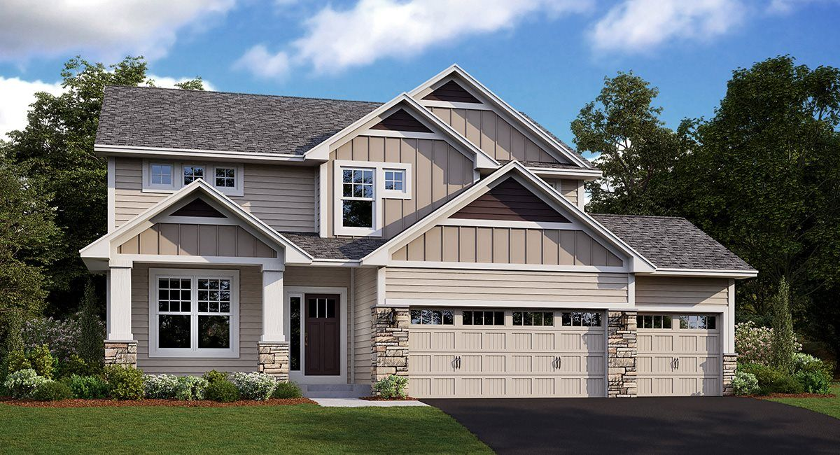 Exterior featured in the Lewis EI By Lennar in Minneapolis-St. Paul, MN