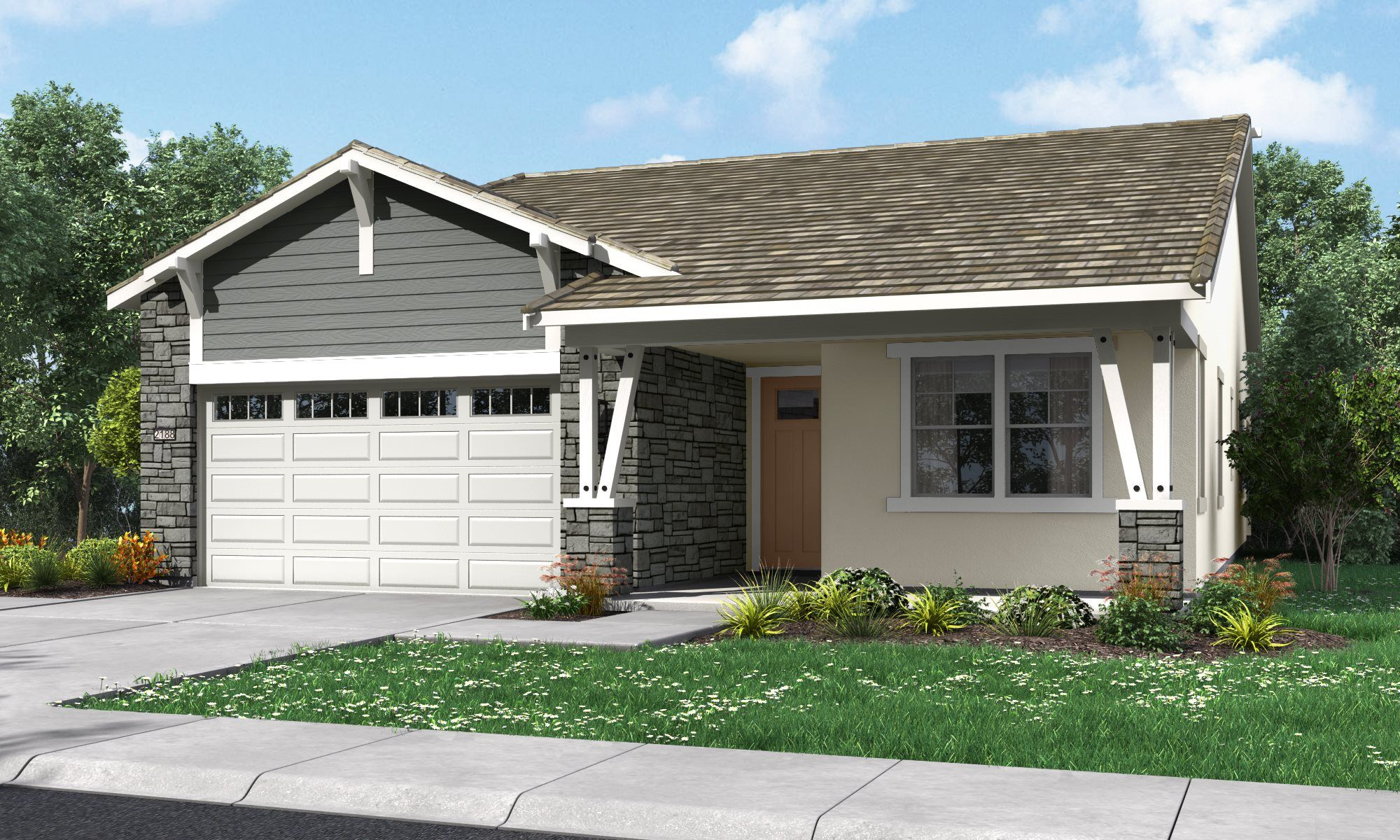 Exterior featured in the Residence 2188 By Lennar in Sacramento, CA
