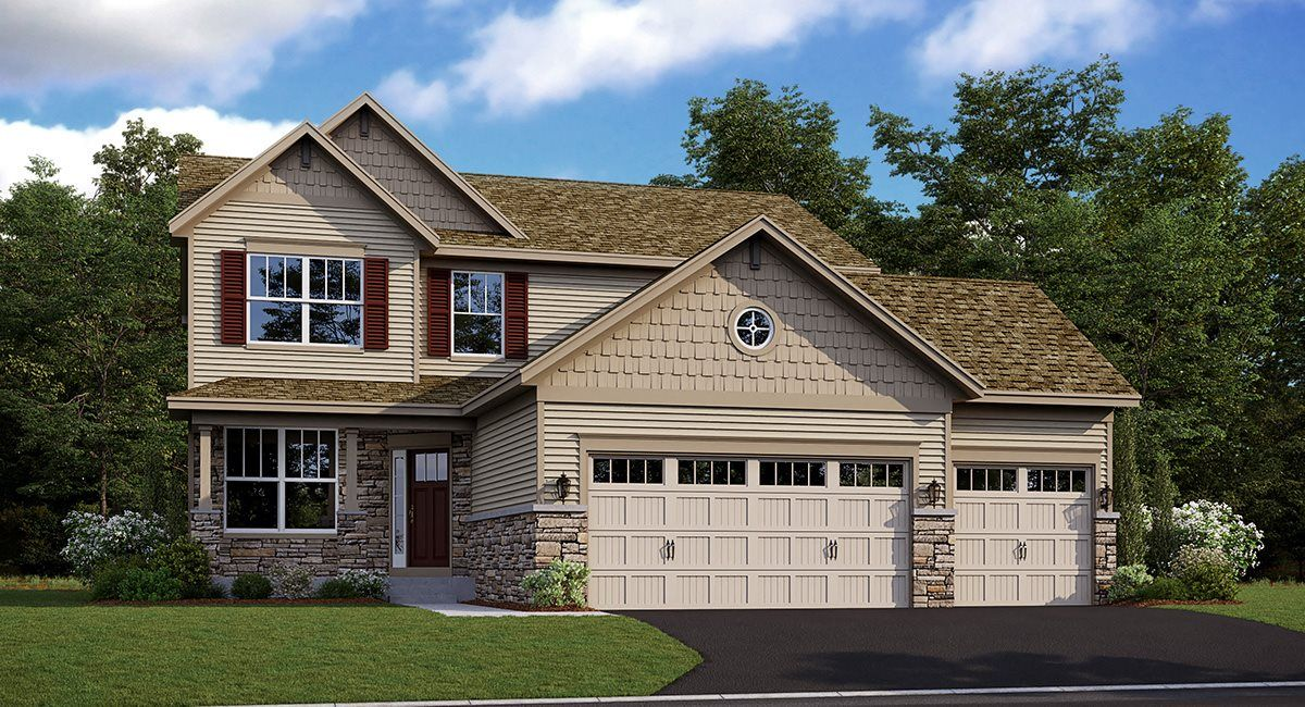 Exterior featured in the Springfield EI By Lennar in Minneapolis-St. Paul, MN