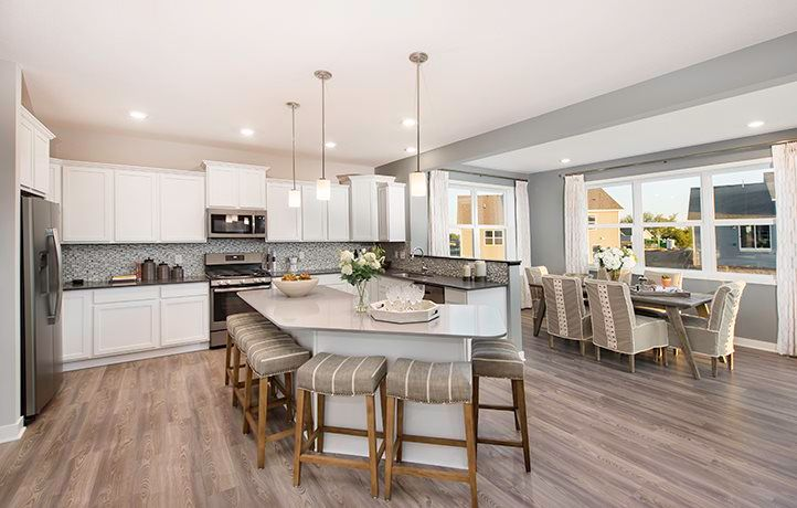 Kitchen featured in the Springfield EI By Lennar in Minneapolis-St. Paul, MN
