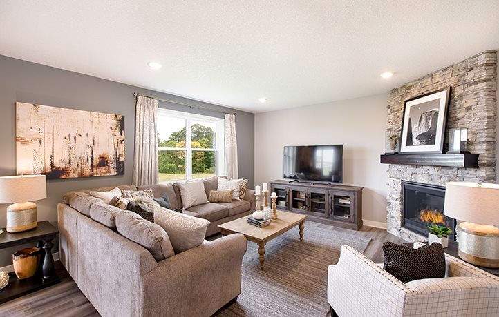Living Area featured in the Bristol EI By Lennar in Minneapolis-St. Paul, MN