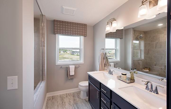 Bathroom featured in the Bristol EI By Lennar in Minneapolis-St. Paul, MN