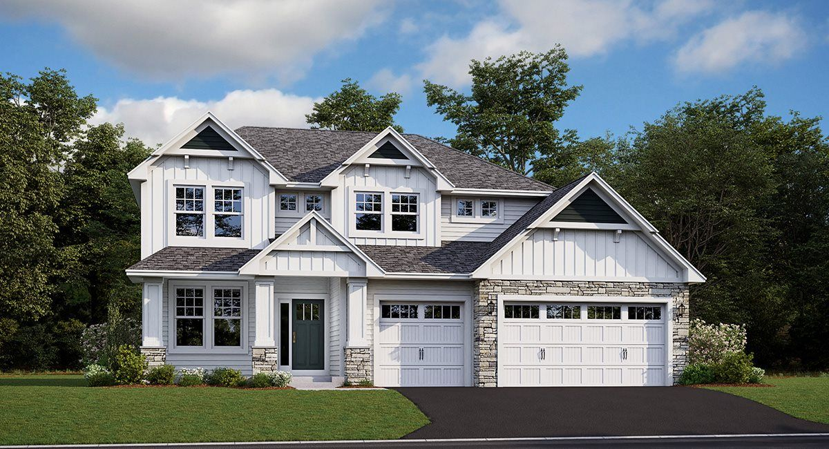 Exterior featured in the Sinclair EI By Lennar in Minneapolis-St. Paul, MN