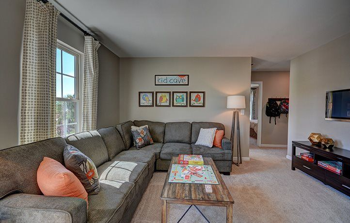 Living Area featured in the Davidson By Lennar in Charlotte, NC