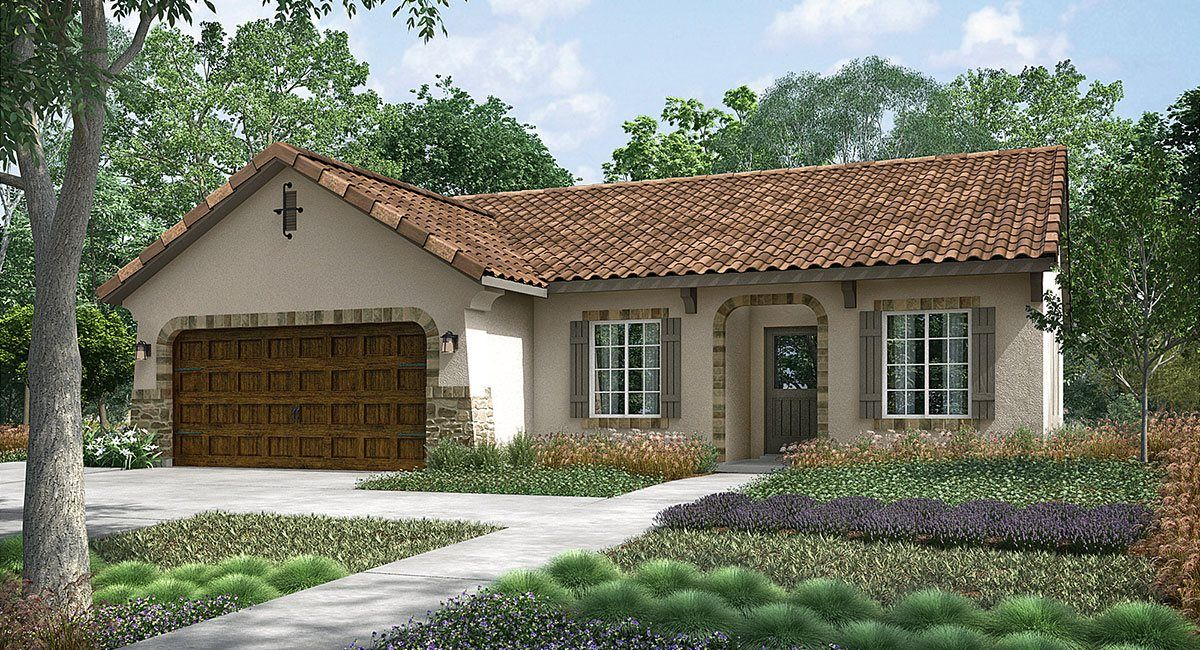 Exterior featured in the Torrey By Lennar in Visalia, CA