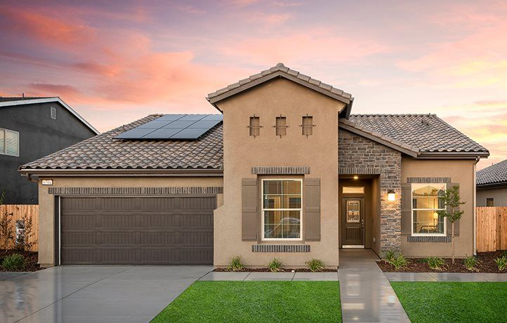 Exterior featured in the Foxtail By Lennar in Visalia, CA